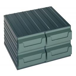 TERRY Drawer 4 elements for objects and small parts 36x32,5x20 - 1