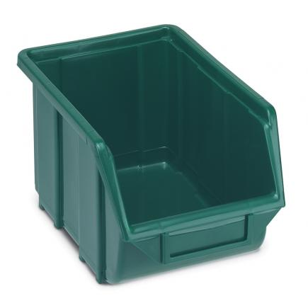 TERRY Plastic stackable small parts organizer 16x25x12,9 - 1