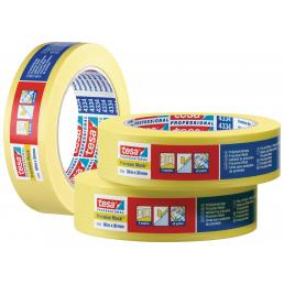 TESA High Grade Paper Tape for high precision masking applications - Yellow - 2