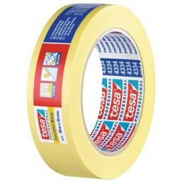 TESA High Grade Paper Tape for high precision masking applications - Yellow - 1