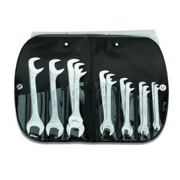 USAG Set of 12 small double ended open jaw wrenches - 1