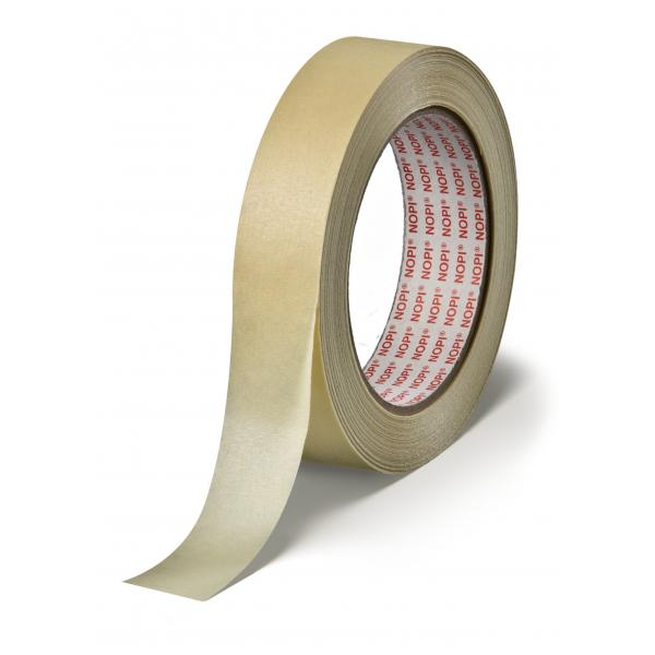 TESA Slightly Creped Paper Tape for all general masking applications - 1
