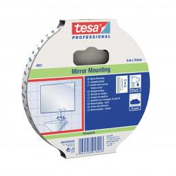 TESA Double-sided fabric mounting tape for general purpose or floor applications - White - 1
