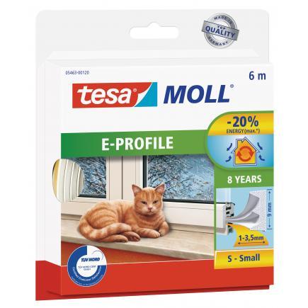 TESA Sealing Tape Universal Foam for doors and windows - 6 mt x 9 mm - 1