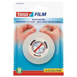 TESA Hand-tearable tape, for any type of application and use at home or office. Easy and silent unwinding - 1