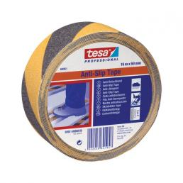 TESA Self-adhesive Anti Slip safety tape - Yellow/Black - 1