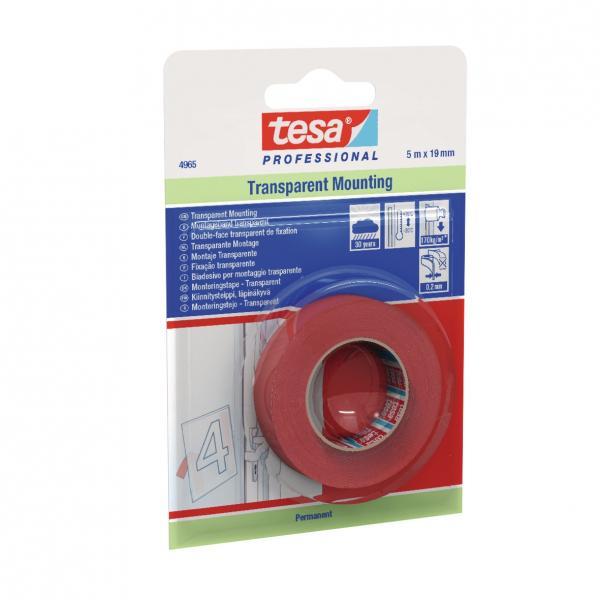 TESA Double Sided High Shear Filmic Tape - Trasparent - 1