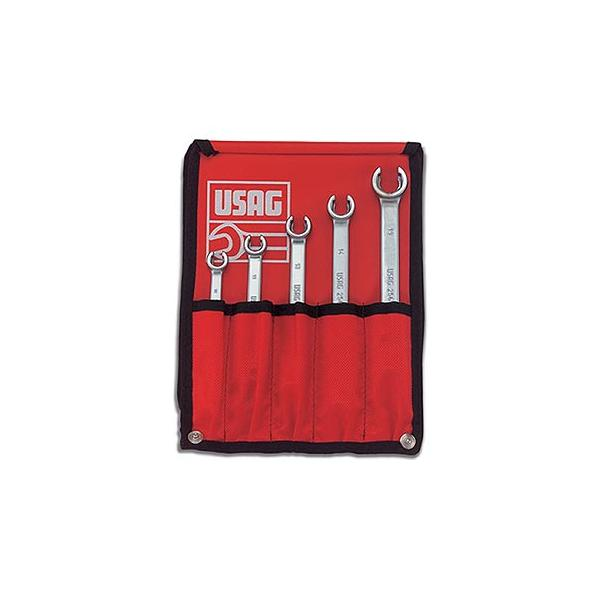 USAG Set of 5 wrenches for connectors - 1