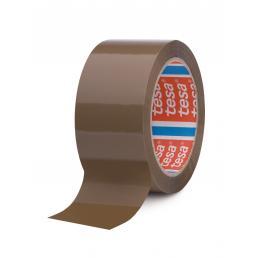TESA Carton Sealing Tape, Noisy unwinding, Brown Color - 1