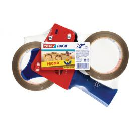 TESA Promopack dispenser with two rolls of packing tape - 1