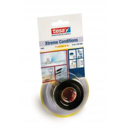 TESA Xtreme Conditions Silicone self-fusing tape - Black - 1