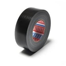 TESA Standard polyethylene coated cloth tape - Black 50 mt x 50 mm - 2