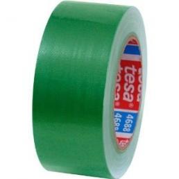 TESA Standard polyethylene coated cloth tape - Green - 2