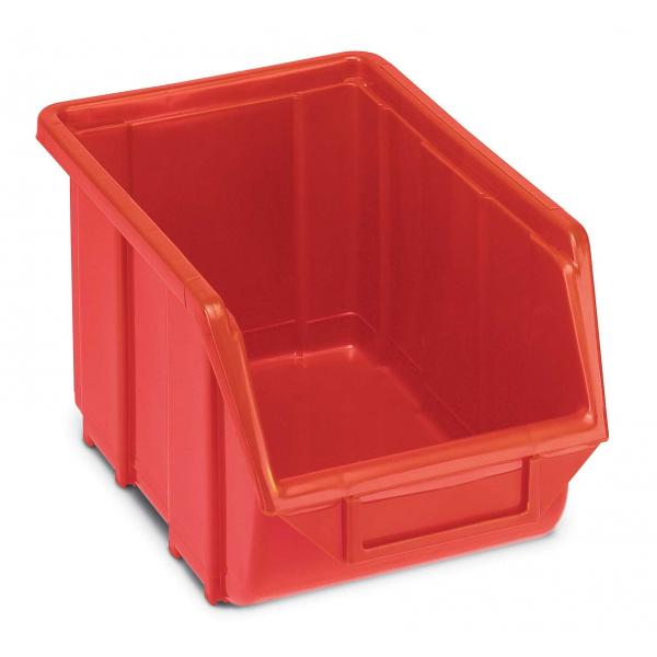 TERRY Plastic stackable small parts organizer 16x25x12,9 - 2