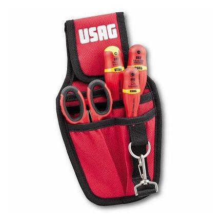 USAG Tool pouch with an assortment for electricians (4 pcs) - 1