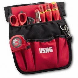 USAG Tool pouch with an assortment for electricians (7 pz) - 1