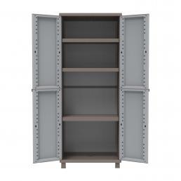 TERRY 2 Doors Outdoor Cabinet 68x37,5x170 - 3 adjustable inner shelves - 1