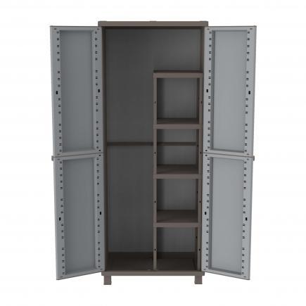 Terry 2 Doors Outdoor Cabinet 68x37 5x170 3 Adjule Inner Shelves 1