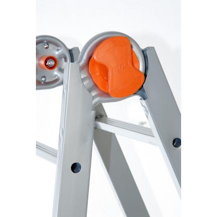GIERRE Steel telescopic ladder - 1