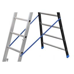GIERRE 3 section extending ladder with flared base - 2