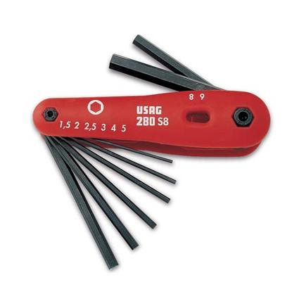USAG Set of 8 hexagon keys - 1