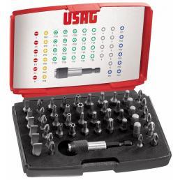 USAG Assortment with bits (49 pcs.) - 1