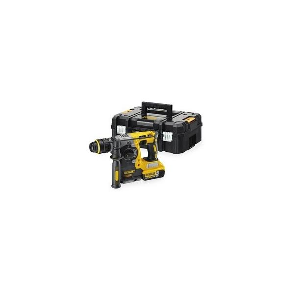 DeWALT 18V-5.0Ah XR Li-Ion SDS-Plus Rotary Hammer, Brushless - 1