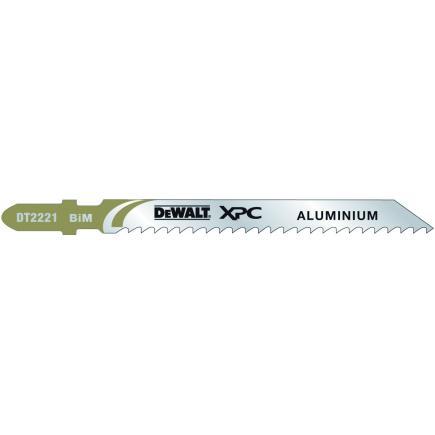 DeWALT Set 3 XPC Jigsaw Blade - Aluminium Cutting (5 pcs.) - 1