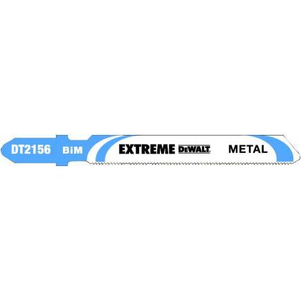 DeWALT Metal Cutting Jigsaw Blade - up to 2mm thickness Cutting - 1