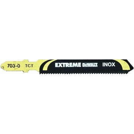DeWALT Jigsaw Blade for INOX Steel Cutting (2.5-5mm) - 1