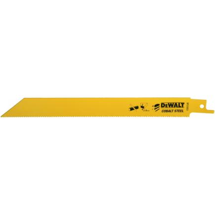 DeWALT Reciprocating Saw Blade - Quick Cutting in  Ferrous and Non-Ferrous Metals (3-8mm) - 1