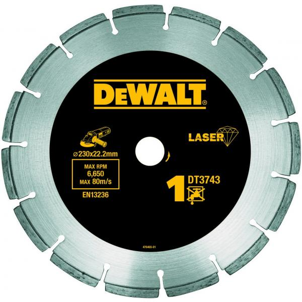 DeWALT Segmented Rim Diamond Disc - Construction Materials Cutting - 1