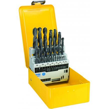 DeWALT Series of 29 HSS Metal Drill Bits in Metal Case - 1