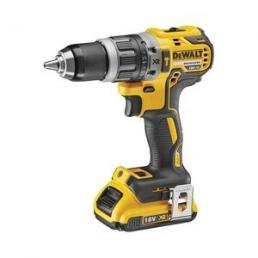 DeWALT 18V XR Li-Ion Cordless Compact Hammer Drill Driver - Brushless 2 Speed - 1