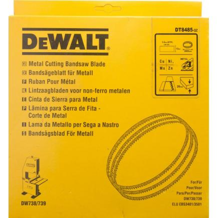 DeWALT Stationary Band Saw  Blades for DW738-9 - Non-Ferrous Materials Cutting - 1