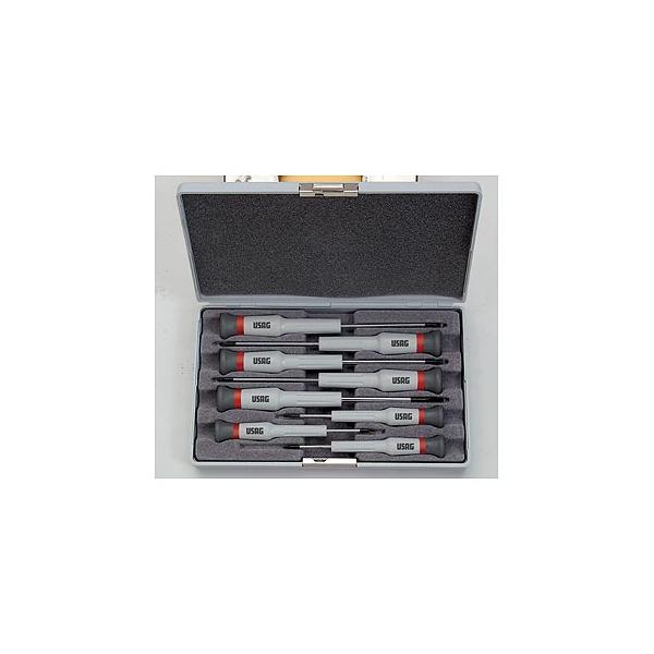 USAG Set of 8 screwdrivers for slot-head and PHILLIPS® screws - 1