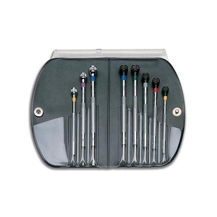 USAG Set of 5 precision screwdrivers for slot-head screws - 1