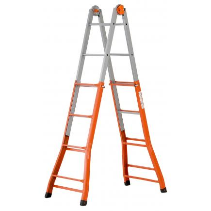 GIERRE Steel telescopic ladder - 1