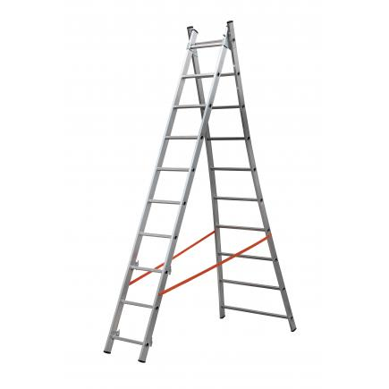 GIERRE Convertible ladder with 3 sections - 1