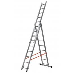 GIERRE Three sections convertible ladder, parallel uprights - 1