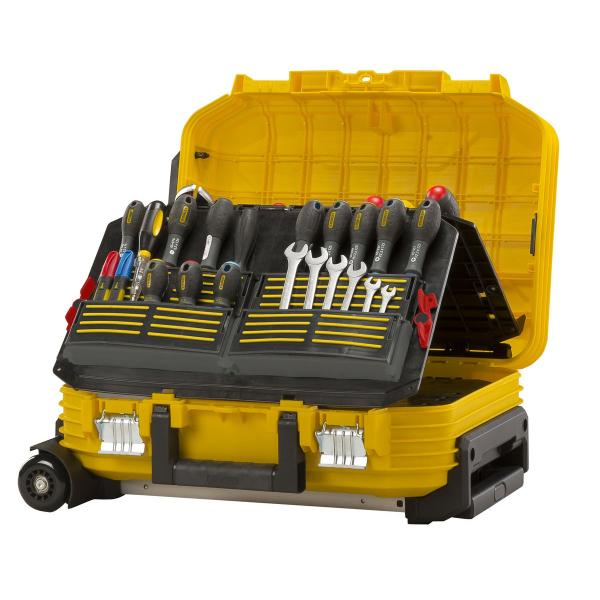 STANLEY Fatmax® Cantilever Working Chest - with wheels - 1