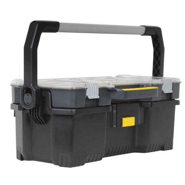 "STANLEY 24"" Tool Tote With Top Organizer - 1"