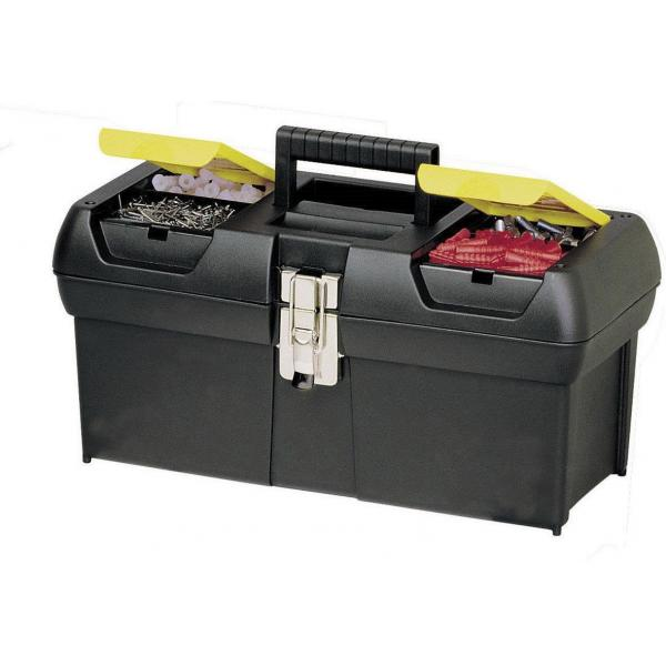 STANLEY Toolbox  With Metal Hinges, 2 Organizers And Tray - 1