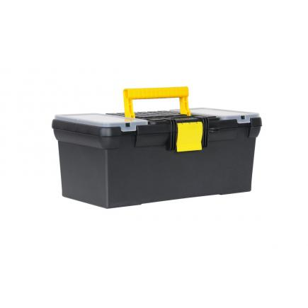 """STANLEY 16"""" Tool Box With 2 Built-In Organizers And Tray - 1"""