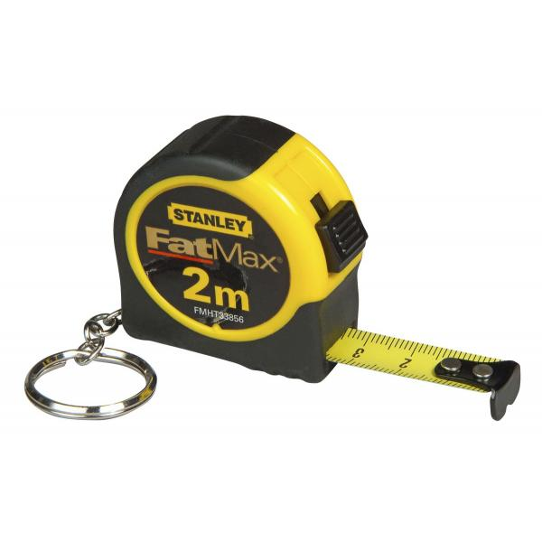 STANLEY 2M Fatmax Tape Measure With Keychain - 1