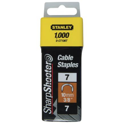 STANLEY Cable Staples - Type 7 - 1