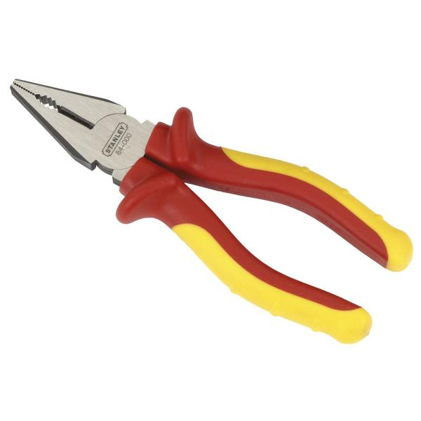STANLEY Maxsteel Diagonal Cutting Pliers VDE Compliant - 1