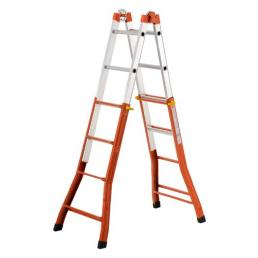 GIERRE Steel and Aluminium extension Ladder  - 1