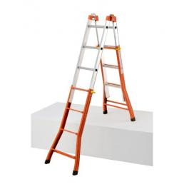 GIERRE Steel and Aluminium extension Ladder  - 3