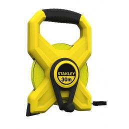 STANLEY Fibreglass Bladed Tape Measure With Open Frame - 2